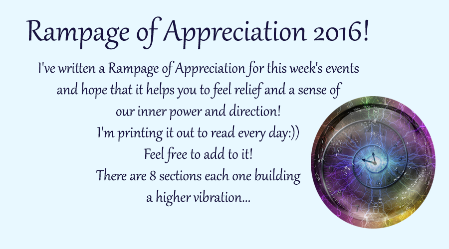 Rampage of Appreciation 2016